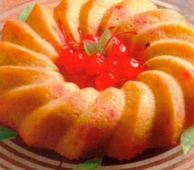 Pudding de frutas frescas