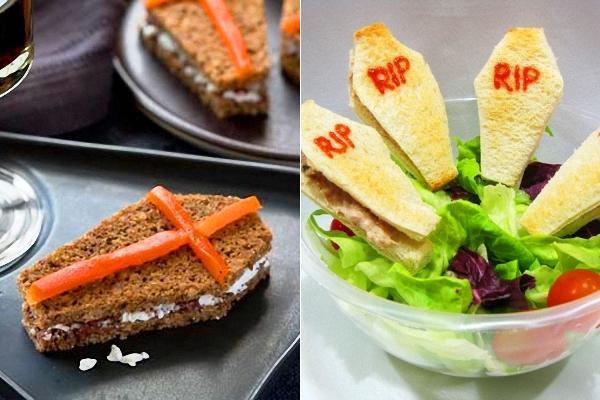 Halloween: Sandwich Féretro