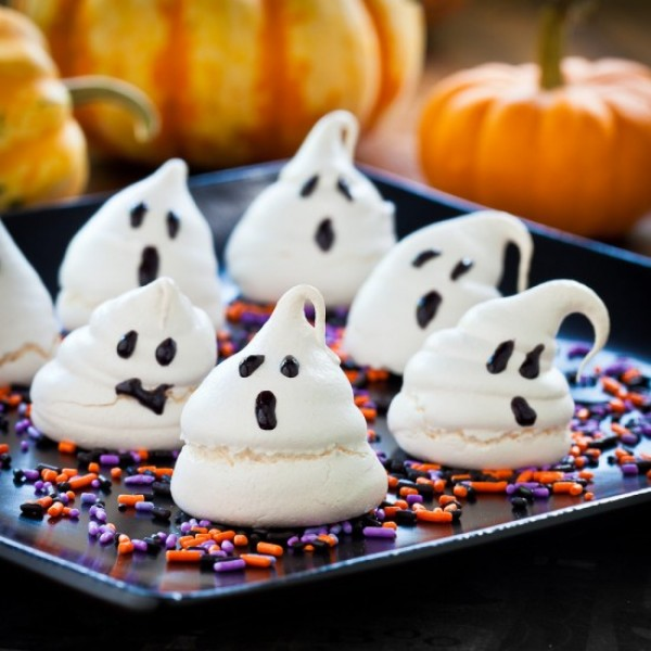 Halloween: Pastelitos Fantasma