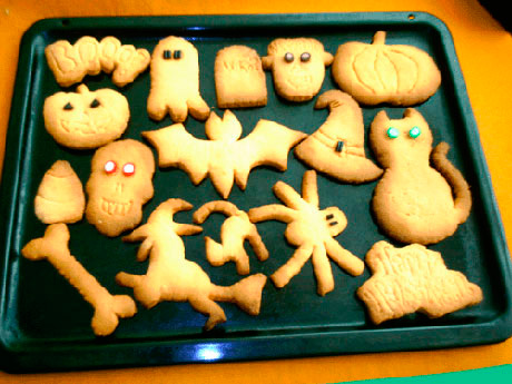 Galletas caseras para halloween