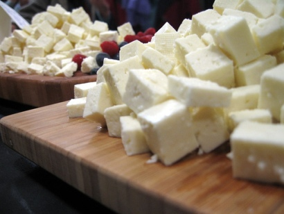Salsa griega de queso feta