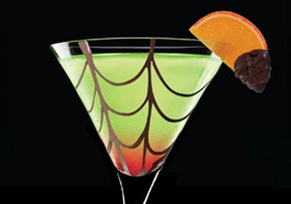 Halloween: Cocktail Beso de Araña