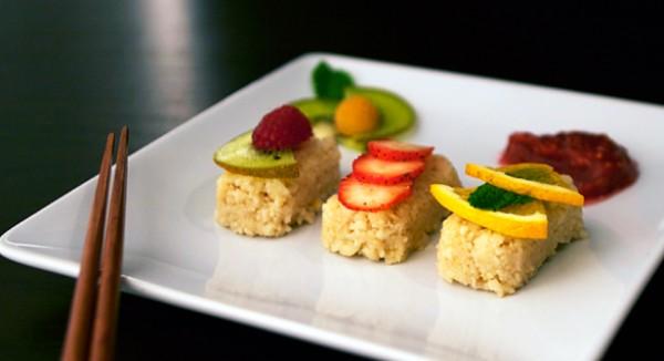 Especial Fin de Año: Sushi de Fruta