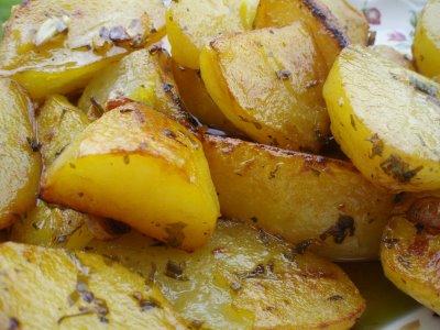 Patatas asadas y especiadas
