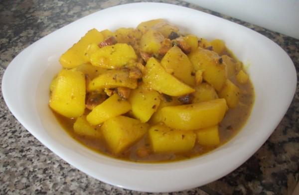 Guiso clásico de patatas