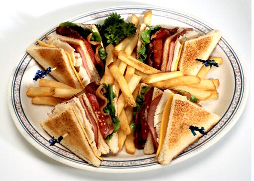 Sándwich de jamón serrano y queso eddam