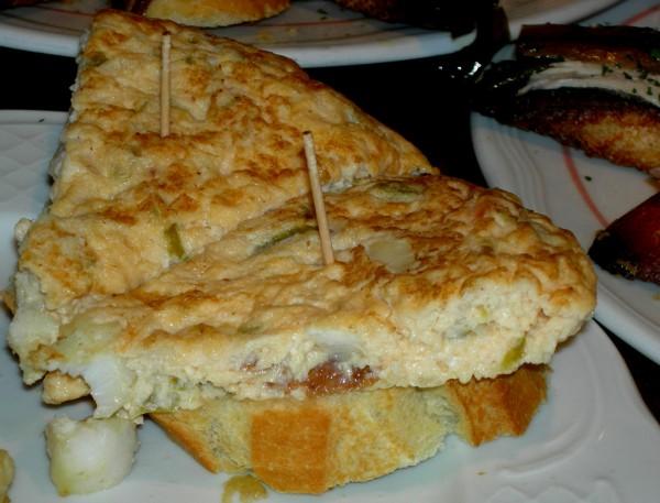 Tortilla de patatas al horno