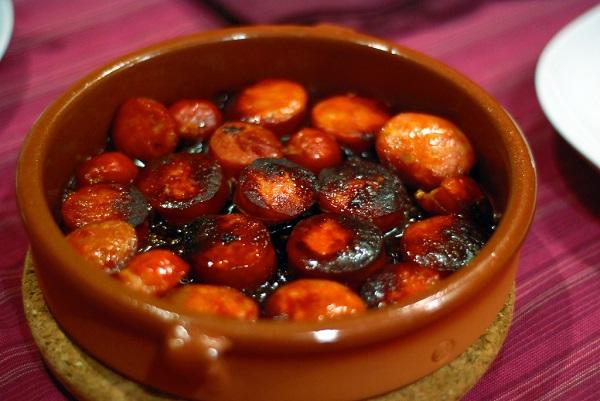 Chorizo a la sidra con un toque especial