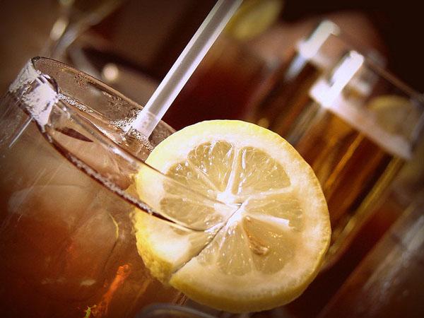 Limonada de Té Verde y Naranja