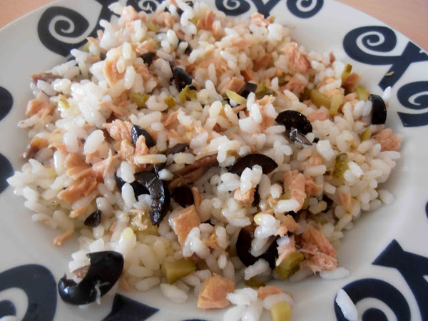 Arroz con anchoas