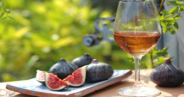 Higos de otoño al vino