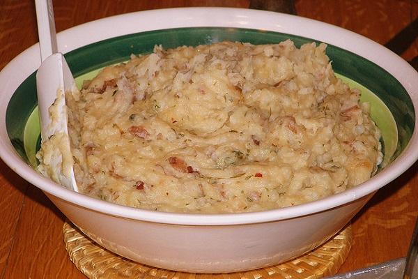 Puré de patatas al pimentón