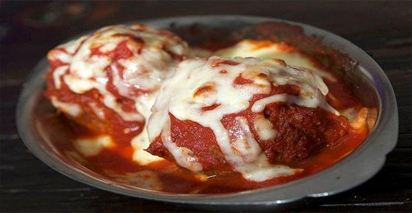 Albóndigas a la italiana con salsa de tomate
