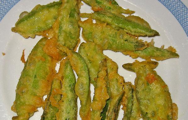 Bocadito de salvia con tempura