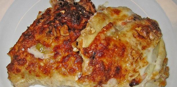 Alitas de pollo con bechamel