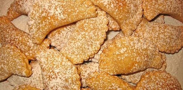 Empanadillas dulces de queso ricota