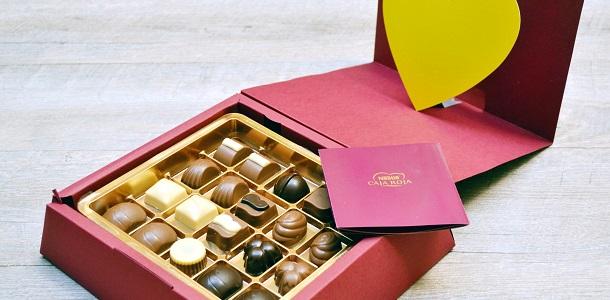 Haz un regalo dulce con los bombones de Díselo con chocolate