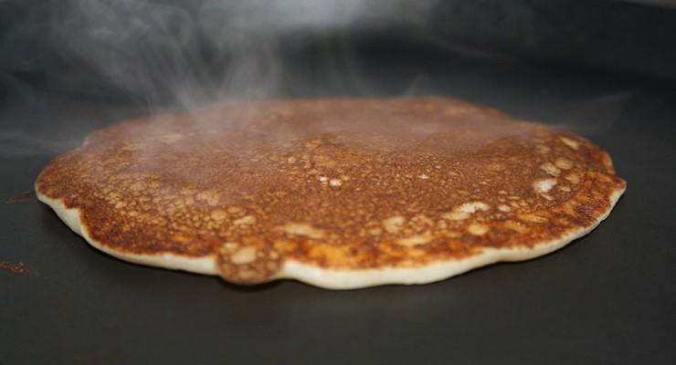 Tortitas al aroma de naranja