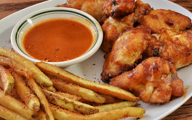 Alitas de pollo horneadas