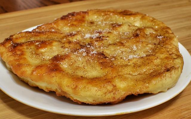 Tortas de pan frito