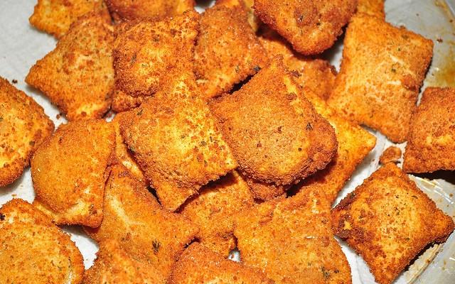 Raviolis caseros fritos